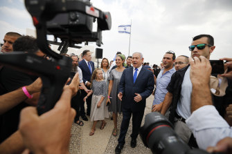 The announcement is a boost for Benjamin Netanyahu, who is in danger of losing power after the recent election.