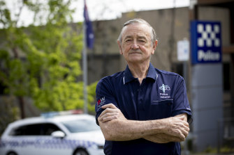 Former Victoria Police chief commissioner and Community Advocacy Alliance chairman Kel Glare.