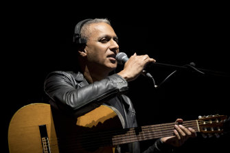 Nitin Sawhney performs Beyond Skin at the Royal Albert Hall in September: ''Something happened on that evening that was very powerful.''