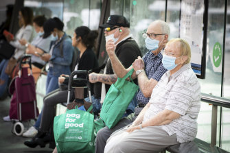 Compulsory masks on public transport are likely to remain even after other restrictions are eased.