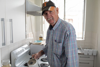 """""""It's changed everything,"""" says Bob Petersen of his home in NSW. """"The neighbours have already been bringing me round casseroles to say hi."""""""