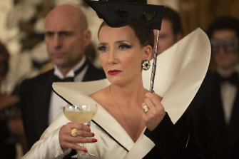 Emma Thompson as The Baroness.