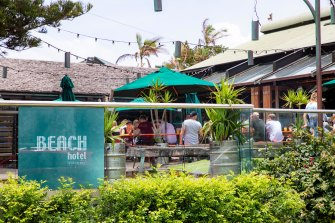 The Beach Hotel sold in 2019 for $100million.