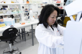 Phage researcher at Sydney's Centre for Infectious Diseases and Microbiology, Associate Professor Ruby Lin.