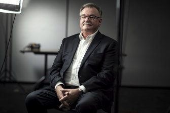 Former icare CEO John Nagle was the focus of an internal review.