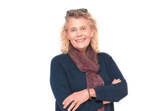 """Fiona Simson: """"You realise how important it is to have women in these positions, and how important what women before us have done. You can't be what you can't see."""""""