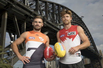 The Swans and the Giants are hopeful fans will be able to attend matches by the time their AFL derby is scheduled.