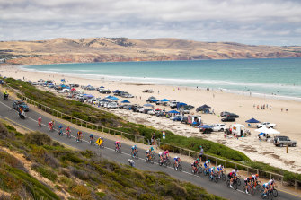 The Santos Tour Down Under was last held in South Australia in 2020.