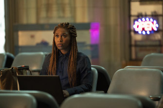 Cynthia Erivo as paranormal investigator Holly.