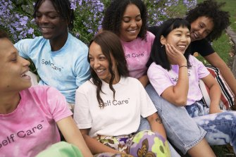 An image from Self Care Originals' summer campaign.