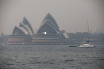 Sydney again disappeared under a blanket of smoke on Thursday amid worsening bushfires across NSW.