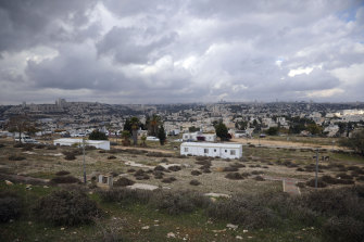 The Givat Hamatos Israeli settlement in east Jerusalem. Israeli authorities on Sunday, January 17, advanced plans to build an additional 780 homes in West Bank settlements, an anti-settlement monitoring group said.