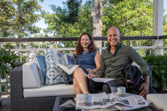 """Christine Jackman and Peter Greste: """"Everyone thought Peter would be dealing with trauma from prison, but he'd been through worse on the front line."""""""