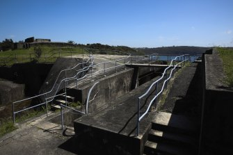 The Middle Head and Georges Head site will receive a $10 million investment to help restore the ageing battlements.