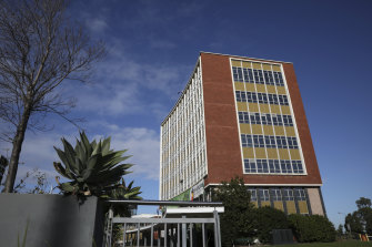 Ryde Civic Centre was built in 1964 in the International Style of modernist architecture.