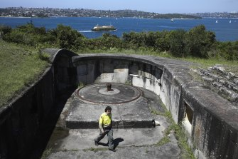 Middle Head, home to fortifications that date back to 1801, will undergo renovations aimed at making the historic national park in Sydney Harbour more accessible to visitors.
