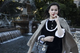 Consumers such as Amber Pham have boosted luxury retail during the COVID-19 crisis.