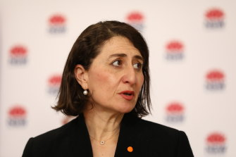 Premier Gladys Berejiklian would not be drawn on whether she supports her Treasurer's push for JobKeeper to be reinstated.