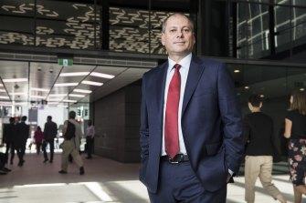 CEO Westpac Peter King