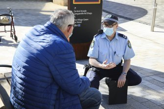 NSW Police can now ask people to show their ID to enforce health orders, police say.