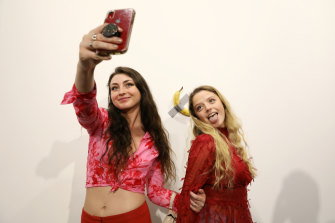 Buyer Sarah Andelman said ''I observed all the Basel visitors taking their selfie and I thought that was such a reflection of our time.''