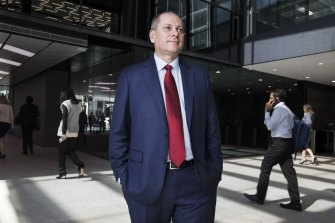 """Westpac chief executive Peter King: """"With a large workforce, it is important that we have the safest possible work environment."""""""