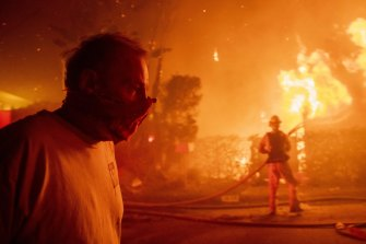 The fire broke out about 1.30am on Monday, local time.