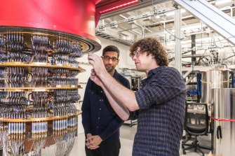 Google claimed its quantum computer (pictured) cracked quantum supremacy in 2019, solving a problem other computers would need centuries to solve. That's disputed by IBM and others, but scientists say there's proof of concept now.