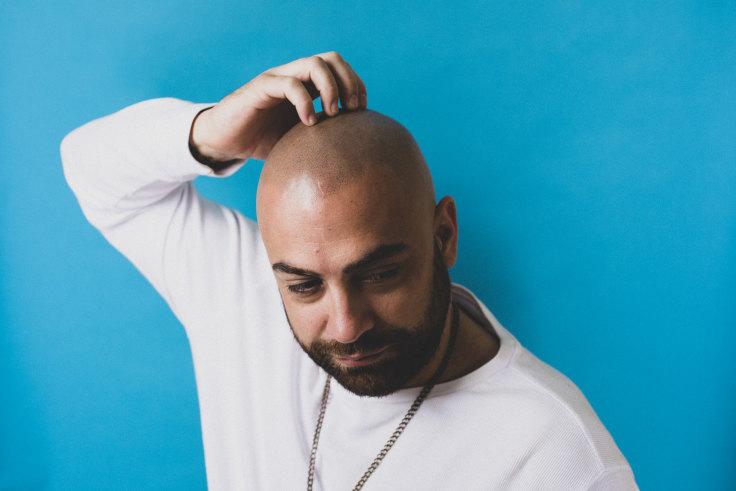 Men with tattoos bald Bald head