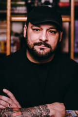 Former neo-Nazi turned author and deradicalisation expert Christian Picciolini.