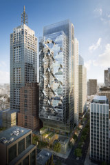 An artist's impression of 80 Collins Street, Melbourne.