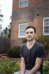 Shaun Hardy says he and his wife have made a large gain on paper on their two-bedroom flat in Ashfield, but upgrading is not on the cards.