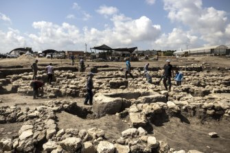 The settlement had streets and sewers, Israel's Antiquities Authority said.