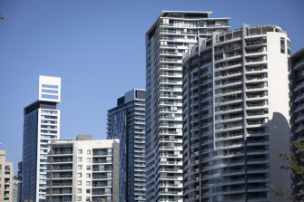 Some new unit blocks in Chatswood have had low sustainability ratings.
