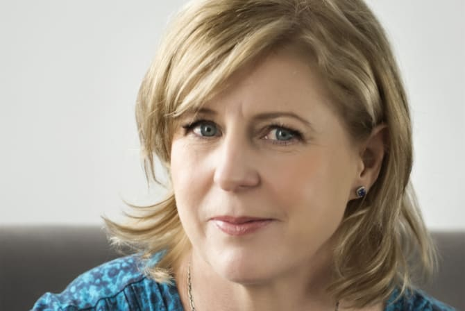 Liane Moriarty, author of Nine Perfect Strangers.