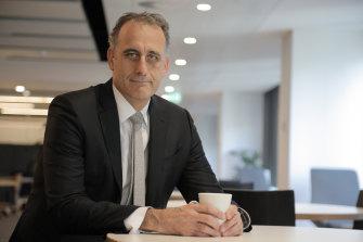 Wesfarmers CEO Rob Scott.