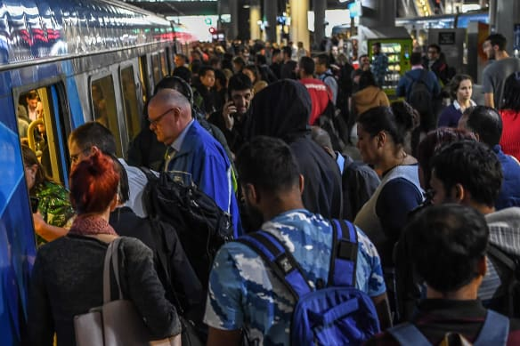 Relief from the crush: More trains for city's busiest lines