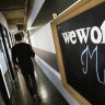 Troubled co-working giant WeWork's rapid Australian expansion stalls