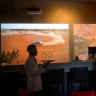 Video art takes pride of place in new Melbourne restaurant Citta