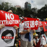 Hong Kong protesters demand scrapping of controversial China extradition bill