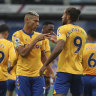 Penalties help Everton and United, Chelsea fight back