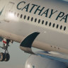 Qantas, Cathay Pacific code-share plans quashed over Virgin concerns