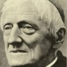 John Henry Newman (1801-1890). Made a cardinal by Pope Leo XIII, canonised by Pope Francis on October 13, 2019.