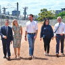 Liberals tout plan to develop over West Perth track, but Labor says cost would be off the rails