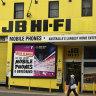 Lockdowns to weigh on retailers as JB Hi-Fi warns on July sales