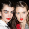 The red lip is back, but not as you know it