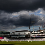 Dark clouds brewing over Lord's.