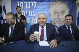 Former Israeli Defence Minister and Yisrael Beiteinu party leader Avigdor Lieberman looks to be one of the big winners of Israel's snap election.