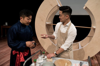 You'll get dinner and a show as Benjamin Law cooks up a storm at Double Delicious.