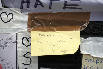 An emotive note penned to Rashford by six-year-old Reggie.